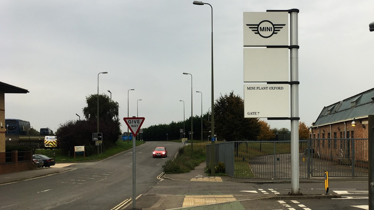 MINI (BMW) в Оксфорде