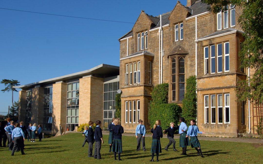 Лето в Sherborn и  Stowe School