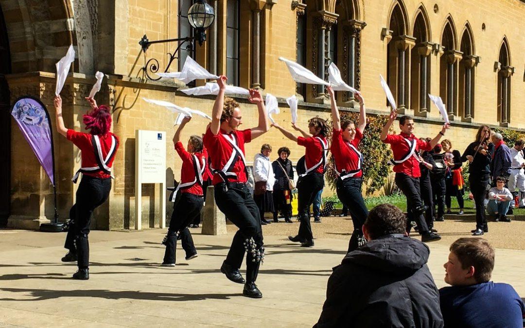Оксфорд танцует